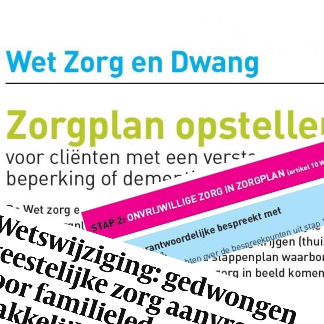 Ysis Wet Zorg en Dwang GeriMedica Meer bezig met je vak